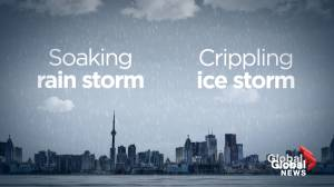 How freezing rain forms in the atmosphere