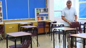 Manitoba school staff preparing to welcome students back to class amid coronavirus (01:28)