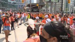 Numerous GTA municipalities opt out of Canada Day festivities (02:37)