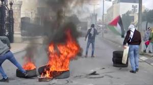 Clashes in West Bank after Palestinians reject U.S. peace plan