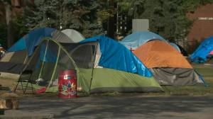 Old Strathcona 'Peace Camp' given Friday deadline to pack up and leave