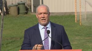 B.C. Premier John Horgan calls snap election (01:41)