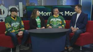 Emergency goalie David Ayres supports Green Shirt Day organ donation campaign