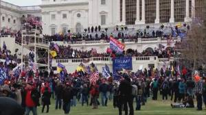 Security response under scrutiny after Trump supporters storm U.S. Capitol (02:07)