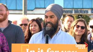 NDP's Jagmeet Singh discusses Auto Innovation Fund, increasing zero emissions incentive