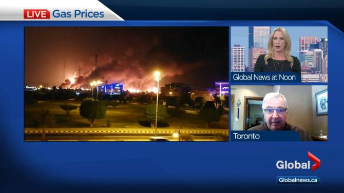 Suncor Energy CEO says he's not counting on oil risk premium after Saudi attacks