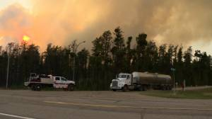 Saskatchewan sends request for more fire resources as precaution (01:34)