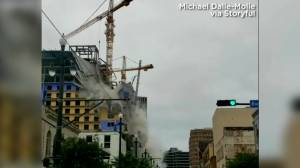 Investigation continues into deadly New Orleans construction site collapse