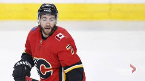 Calgary Flames defenceman T.J. Brodie sent to hospital after episode at practice