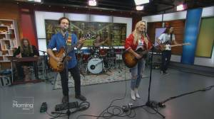 CCMA female artist of the year Meghan Patrick performs on The Morning Show