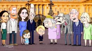 The Royals… animated!