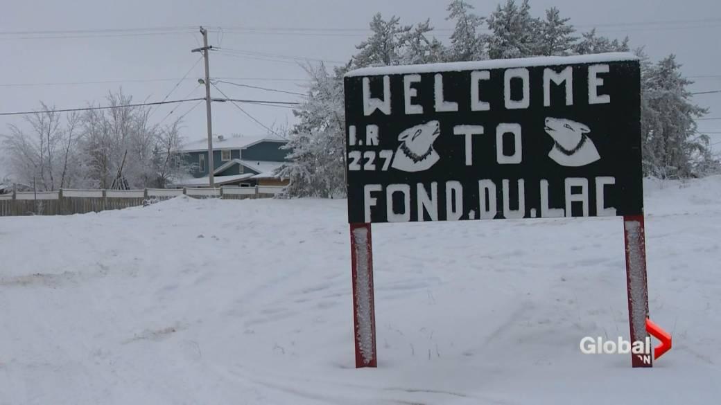 Click to play video 'Water, COVID-19 crisis hits northern Saskatchewan community'
