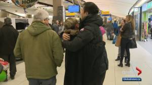 Calgarians who were trapped in Wuhan, China return home