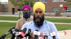 NDP leader Singh says WE Charity's shut down of Canadian operations highlights it was in 'need of a bailout'