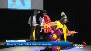 Kelowna Fringe Festival challenges creaives (02:49)