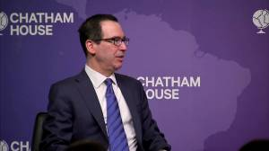 U.S. Treasury secretary says he's optimistic about possible trade deal with U.K.