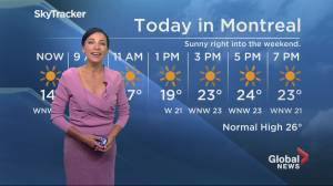 Global News Morning weather forecast: Friday August 23, 2019