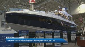 The largest indoor boat show in North America returns to Toronto