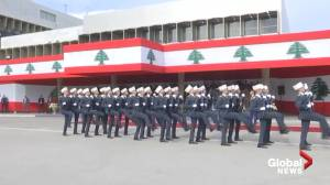 Lebanese officials attend Independence Day parade amid nationwide protests