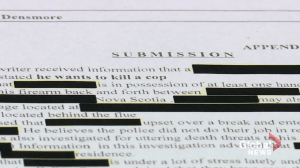 Document show police tipped off that Gabriel Wortman wanted to 'kill a cop'