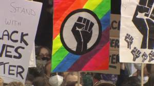 Thousands rally against racism in Victoria, B.C.