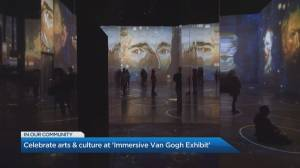 Watch art come to life at the Immersive Van Gogh Exhibit (05:19)