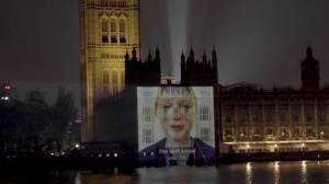 Coronavirus outbreak: NHS staff send message for more PPE in video projected onto Palace of Westminster
