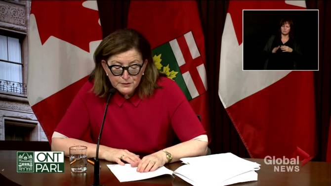 Click to play video: Ontario sees highest COVID-19 case numbers since mid-January