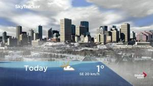Edmonton early morning weather forecast: Thursday, November 14, 2019
