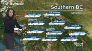 Play video: B.C. evening weather forecast: Nov 22