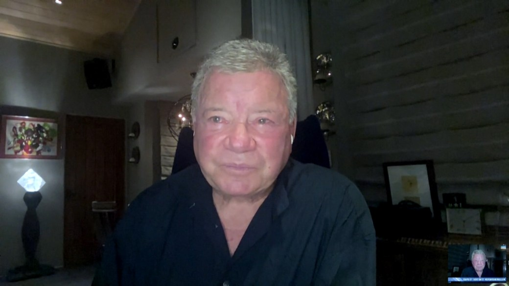 Click to play video: 'William Shatner says he's thrilled and anxious to experience space aboard Blue Origin'