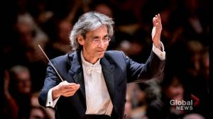 Former music director of the Montreal symphony orchestra gets awarded special title (01:59)