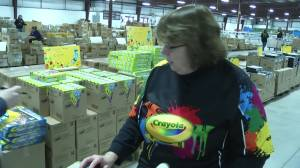 Crayola colours for the United Way campaign in the City of Kawartha Lakes