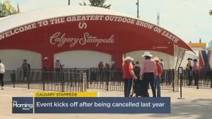 The Calgary Stampede kicks off Friday (04:28)