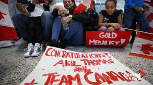 Team Canada arrives home to heroes welcome after gold medal win at world juniors
