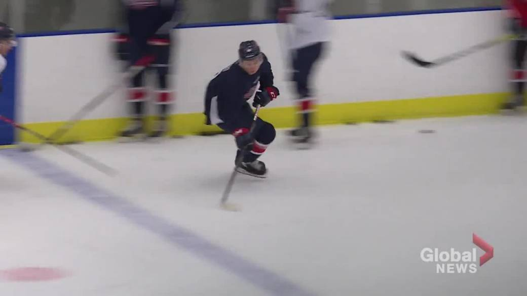 Click to play video: 'Regina Pats open training camp with extra attention'