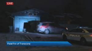 Fatal fire in Transcona (00:57)