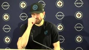 RAW: Winnipeg Jets Blake Wheeler Interview – Mar. 6 (03:12)