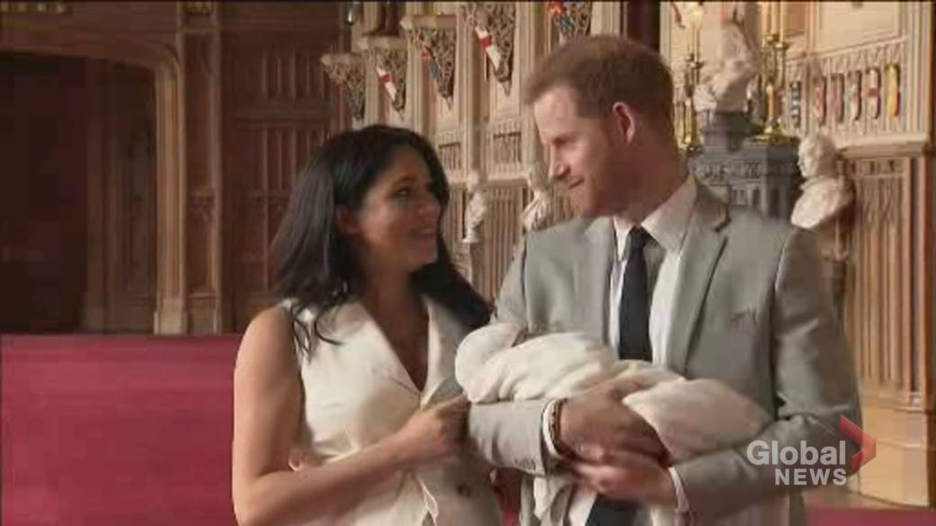 Click to play video: 'Meghan Markle and Prince Harry welcome baby daughter Lilibet'