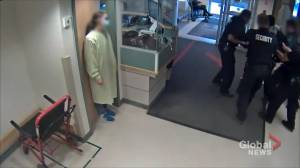 Video shows Samwel Uko escorted out of Regina General Hospital hours before death