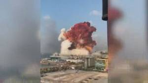 Deadly explosion rips through downtown Beirut