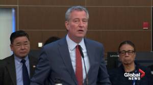 Coronavirus expected in New York 'sooner rather than later': Mayor de Blasio