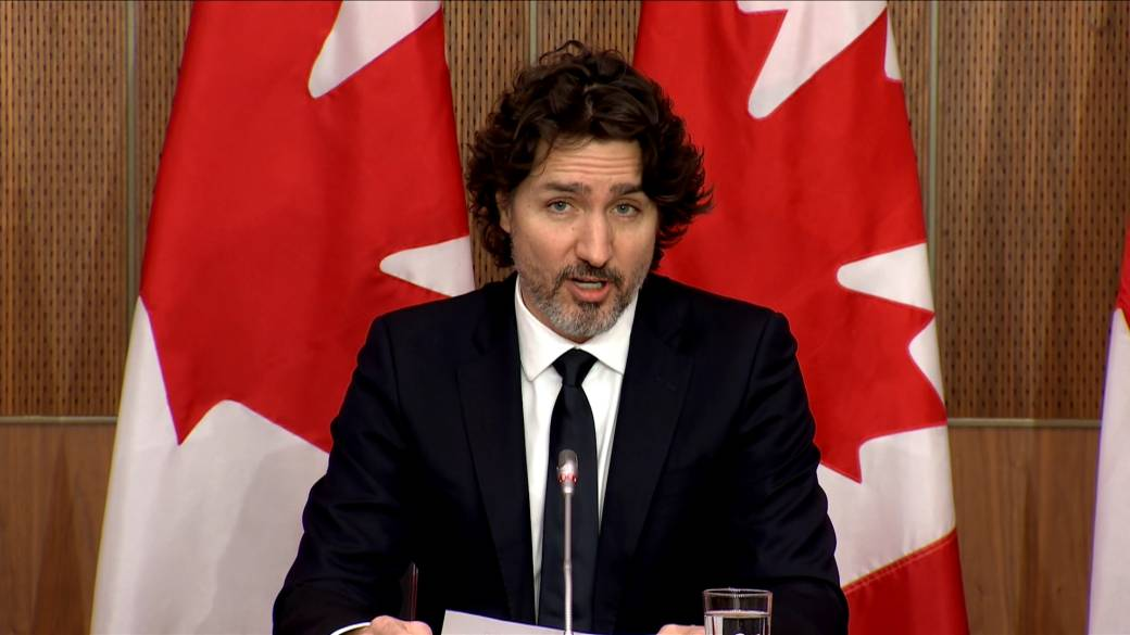 Click to play video 'Trudeau asked about use of 'genocide' to describe China's actions against Uighur minority'