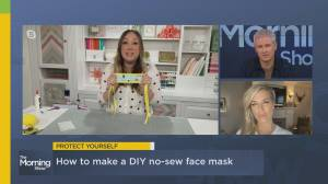 How to create your own non-medical face mask at home