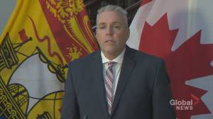 N.B. finance minister says fiscal restraint is key (01:55)