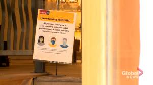 Calgary businesses bracing for mask mandate confusion (01:48)