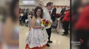 Bride's missing traditional wedding dress devastates Calgary newlyweds