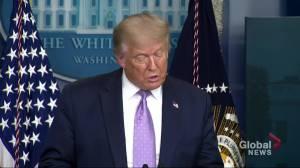 Coronavirus: President Trump opposes Biden's position on mandatory face masks