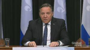 Coronavirus: Quebec reports 20 new deaths, premier compares pandemic situation with France, U.K. (01:19)