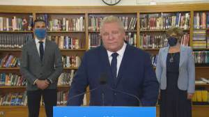 Ontario Premier Doug Ford praises Kathleen Wynne after her decision to not run for re-election (02:46)